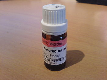 The homeopathic remedy arsenicum album is deri...