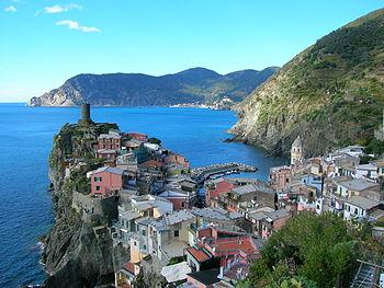 Vernazza landscape