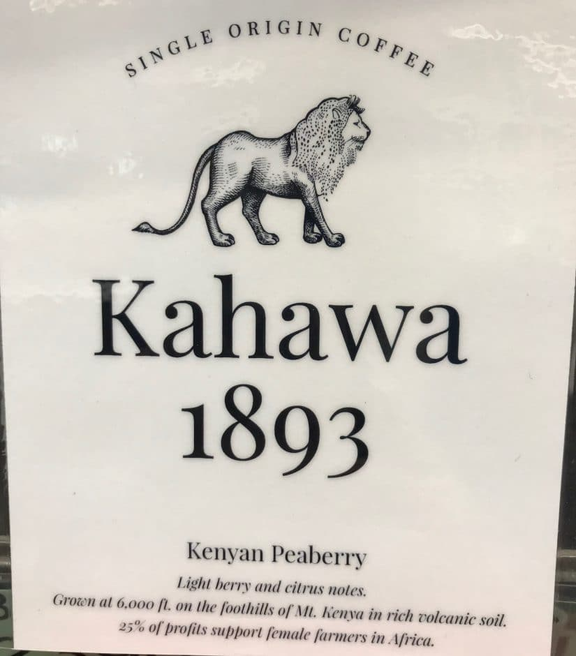 Kahawa 1893 Kenyan Peaberry Coffee