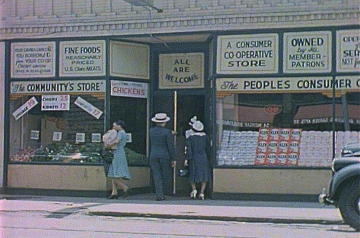Peoples Consumer Cooperative 1930's